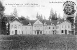 Le château de Montépin (construit au XVII) de Frotey les Vesoul